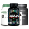 Combo: 1 Dilatex 152 Cápsulas Power Supplements + 1 Tribulus Terrestris 60 Cápsulas Black Skull + 1 ZMA 90 Cápsulas Max Titanium