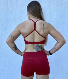 Conjunto Power Clean Red Passion na internet