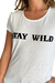 REMERA STAY WILD en internet
