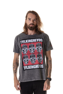 T-shirt Estonada Talking Heads - Masculina