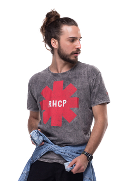 T-shirt Estonada Red Hot Chili Peppers - Masculinas