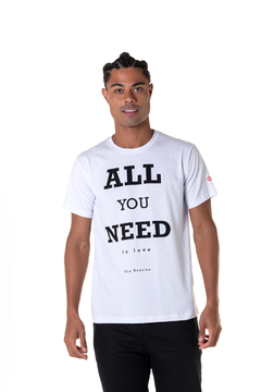 T-shirt All You Need is Love - Masculina