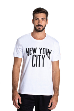 T-shirt New York City - Masculina - comprar online