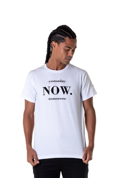 T-shirt Now - Masculina
