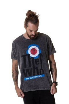 T-shirt Estonada The Who - Masculina