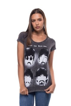 T-shirt Estonada Beatles Mood -Feminina