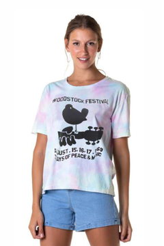 T-shirt Box Tie Dye Woodstock - Feminina (SALE)