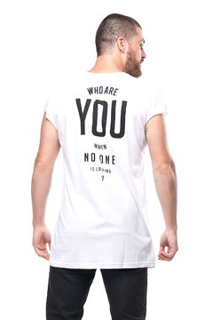 Long-t Regata Who Are You - Unissex (SALE) - comprar online
