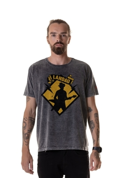 T-shirt Estonada Flying Cowboy (LANDAU) - Masculina