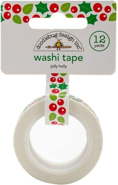 Washi Tape / Fita Adesiva Decorada Jolly Holly - Doodlebug