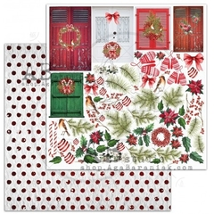 "AB Studio - Papel ""Jolly Elements"" - A Holly Jolly Christmas"