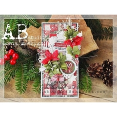 "AB Studio - Papel ""Waiting For"" -A Holly Jolly Christmas - comprar online"
