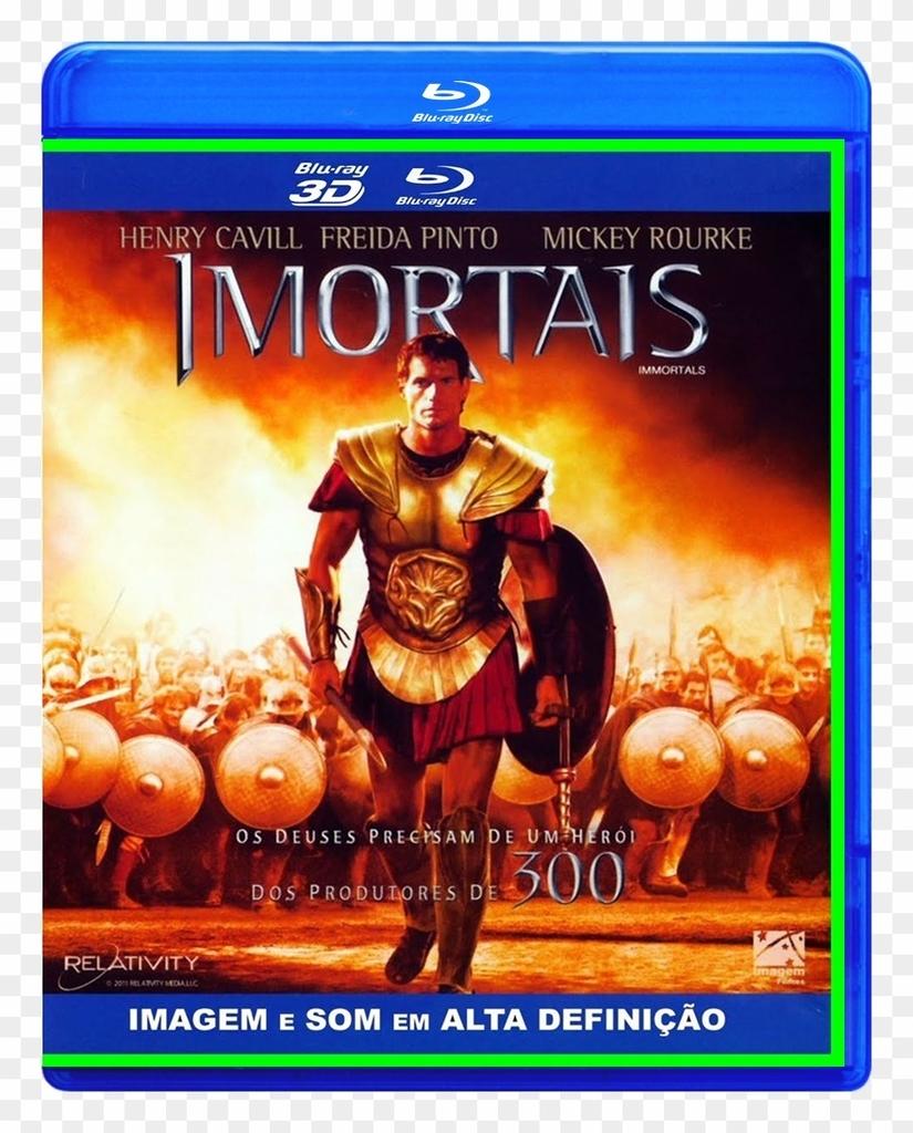 Imortais (2011) 2D+3D - Blu Ray Dublado E Legendado