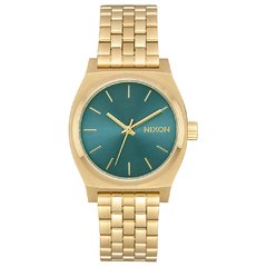 Medium Time Teller Light Gold/ Turquesa
