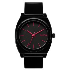 Time Teller Black Bright Pink