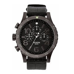 48-20 Chrono Leather Black/Gator
