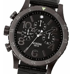 48-20 Chrono Leather Black/Gator - Nixon