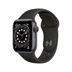 - Apple Watch Series 6 44mm GPS - Cinza-espacial - M00H3