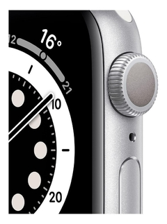 - Apple Watch Series 6 40mm GPS - Prata - MG283 - comprar online