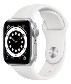 - Apple Watch Series 6 40mm GPS - Prata - MG283