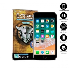 X-ONE Pelicula iPhone 7/8/SE2 preto Estreme Shock Eliminator 2D FULL