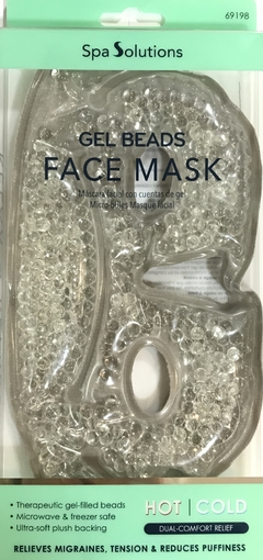 MASCARA FACIAL GEL BEADS FACE MASK HOT/COLD
