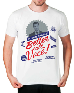 Camiseta Better Call Me! (Com Foto) na internet