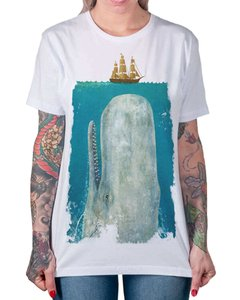 Camiseta Moby Dick na internet