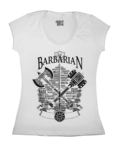 Camiseta Feminina do Bárbaro na internet