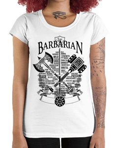 Camiseta Feminina do Bárbaro