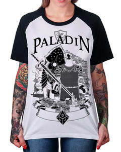 Camiseta Raglan do Paladino na internet
