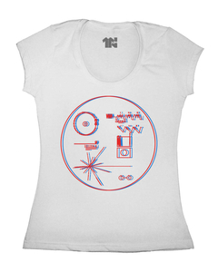 Camiseta Feminina Voyager Golden Record na internet