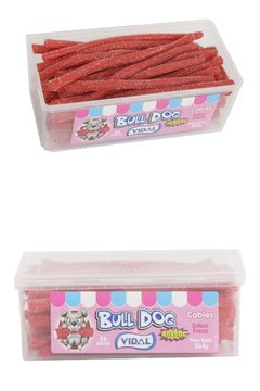 Bull Dog Cables Frutilla Acidos