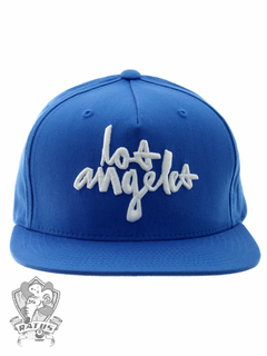 Boné Chocolate Snapback Los Angeles