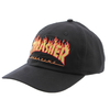 Boné Thrasher Aba Curva Dad Hat Black