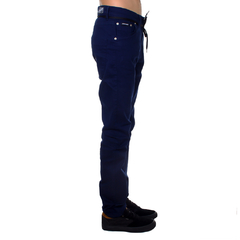 Calça Santa Cruz Sarja Skate Fit Navy Hold On - comprar online