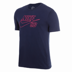 Camiseta Nike SB Standard Fit Blue Navy