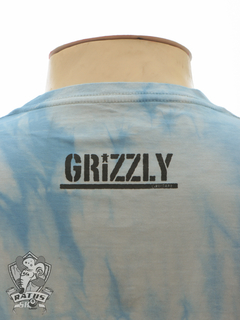 Camiseta Grizzly Fire Tie Dye - Blue na internet
