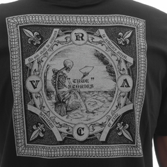 Camiseta RVCA Detention Black - Ratus Skate Shop