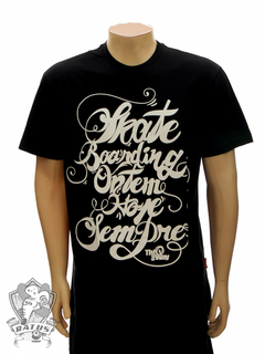 Camiseta This Way Skateboarding - Black
