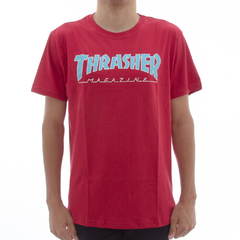Camiseta Thrasher Outline Red