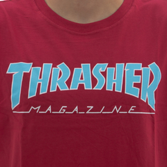 Camiseta Thrasher Outline Red - comprar online