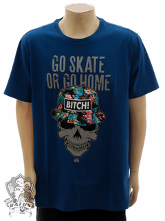 Camiseta Drop Dead Bitch! Navy