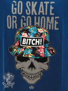 Camiseta Drop Dead Bitch! Navy - comprar online