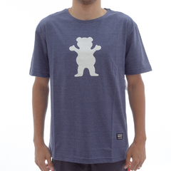Camiseta Grizzly OG Bear Logo Nave