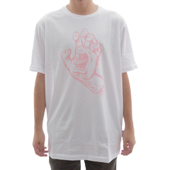 Camiseta Santa Cruz Screaming Hand Branco