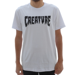 Camiseta Creature Shredded White