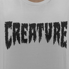 Camiseta Creature Shredded White - comprar online