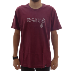 Camiseta Ratus Neon Writing Wine