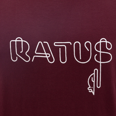 Camiseta Ratus Neon Writing Wine - comprar online